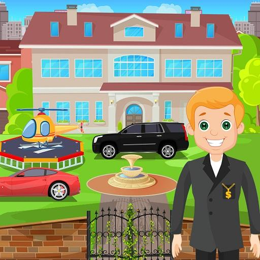 Pretend Play My Millionaire Family Villa Fun Game 1.0.3 (Unlimited money,Mod) for Android