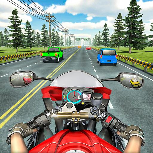Racing In Moto Traffic Stunt Race 1.20 (Unlimited money,Mod) for Android
