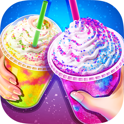 Rainbow Ice Cream – Unicorn Party Food Maker 1.6 (Unlimited money,Mod) for Android