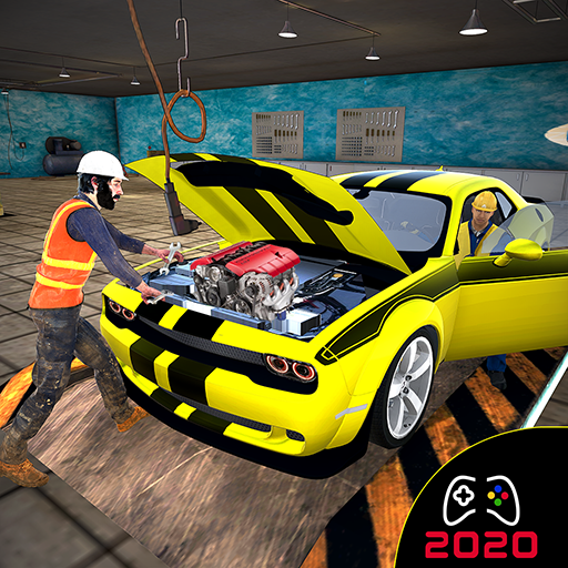 Real Car Mechanic Workshop- Junkyard Auto Repair 1.0 (Unlimited money,Mod) for Android
