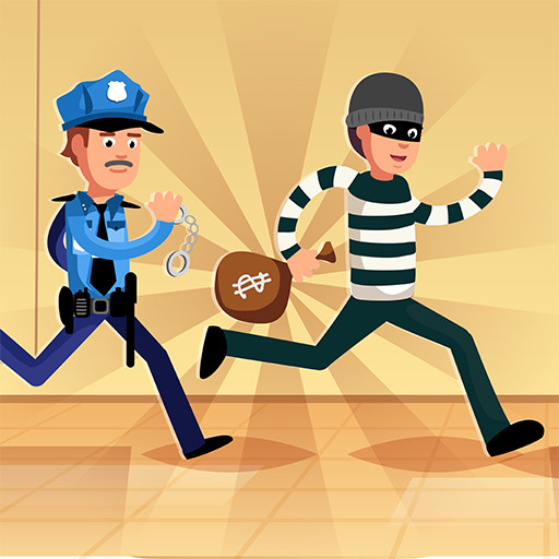 Robber Run – Cops and Robbers: Police Chasing Game 3.5 (Unlimited money,Mod) for Android