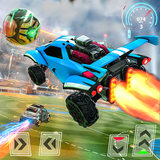Rocket Car Football Soccer League Champion 1.5 (Unlimited money,Mod) for Android