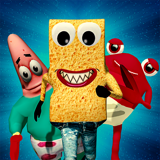 SPONGE FAMILY NEIGHBOR 2: SQUID ESCAPE 3D GAME 1.9 (Unlimited money,Mod) for Android