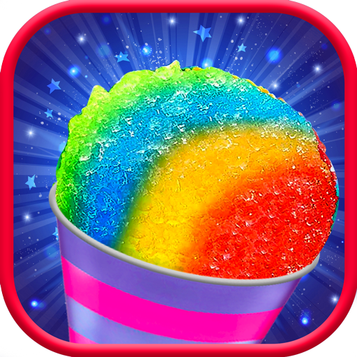 Snow Rainbow Ice Cone Maker: Icy Candy fun 1.0.9 (Unlimited money,Mod) for Android