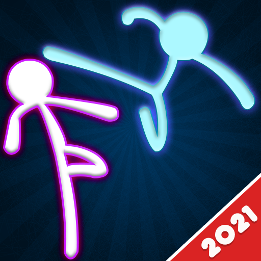 Stickman Fighting: 2 Player Funny Physics Games 1.8 (Unlimited money,Mod) for Android