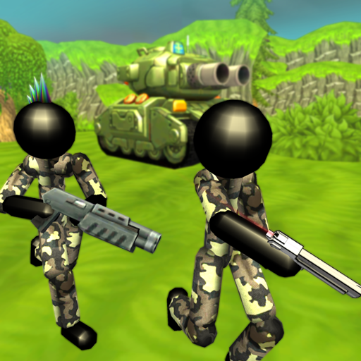 Stickman Tank Battle Simulator  1.10 (Unlimited money,Mod) for Android