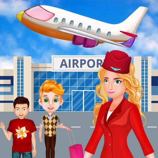 Summer Vacation Airport Trip: Flight Attendant 1.0.5 (Unlimited money,Mod) for Android