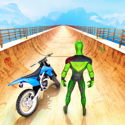 Mega Ramp Bike GT Racing 3D: Bike Stunt Games 2021   (Unlimited money,Mod) for Android (Unlimited money,Mod) for Android
