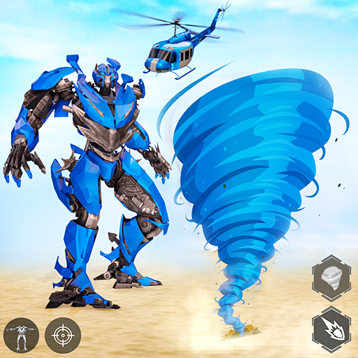 Tornado Robot games-Hurricane Robot Transform Wars  1.2.7 (Unlimited money,Mod) for Android