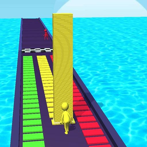 Tower Stack colors kick-Collect cubes tower run 1.0.9 (Unlimited money,Mod) for Android