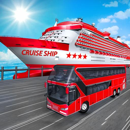 Transport Cruise Ship Game Passenger Bus Simulator 3.0 (Unlimited money,Mod) for Android