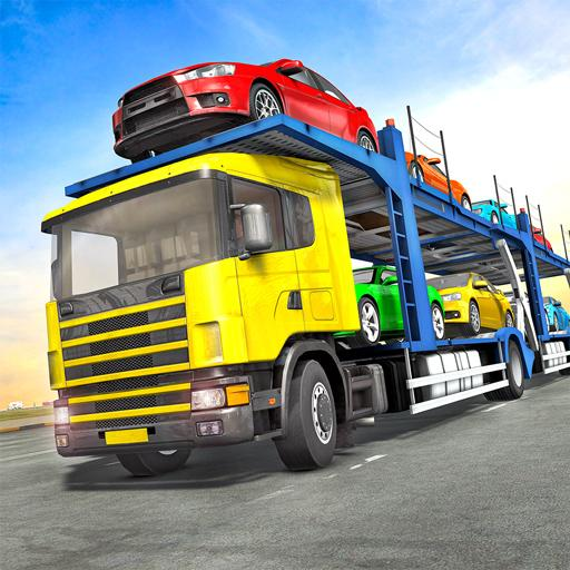 Truck Car Transport Trailer Games 1.10 (Unlimited money,Mod) for Android