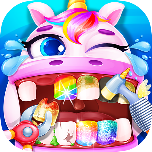 Unicorn Dentist – Rainbow Pony Beauty Salon 1.4 (Unlimited money,Mod) for Android