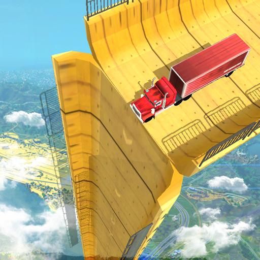 Vertical Mega Ramp Impossible 3D 1.12 (Unlimited money,Mod) for Android