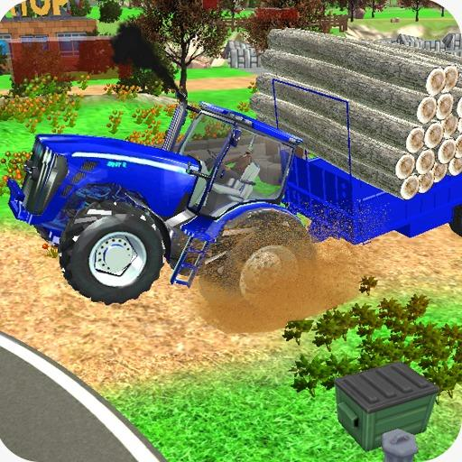 Village Tractor Games:Chained Tractor Offroad Game 1.00.0000 (Unlimited money,Mod) for Android