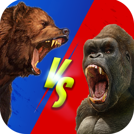 Wild Gorilla vs Wild Bear Ring Fighting: Wild Hunt 0.3 (Unlimited money,Mod) for Android