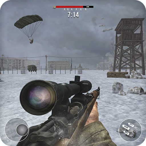 World War 2 Winter Heroes – Free Shooting Games 1.2.2  (Unlimited money,Mod) for Android