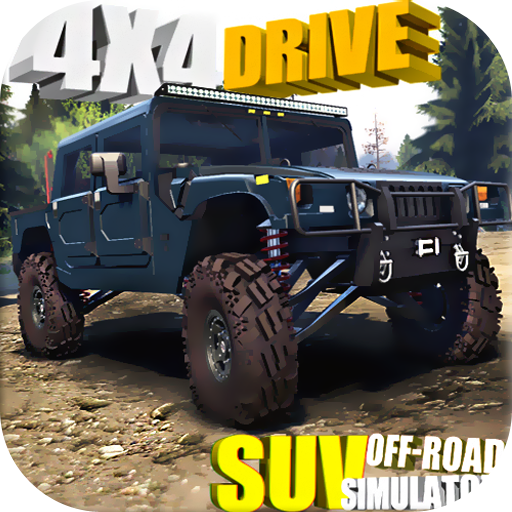 4X4 DRIVE : SUV OFF-ROAD SIMULATOR 1.8.2f1 (Unlimited money,Mod) for Android