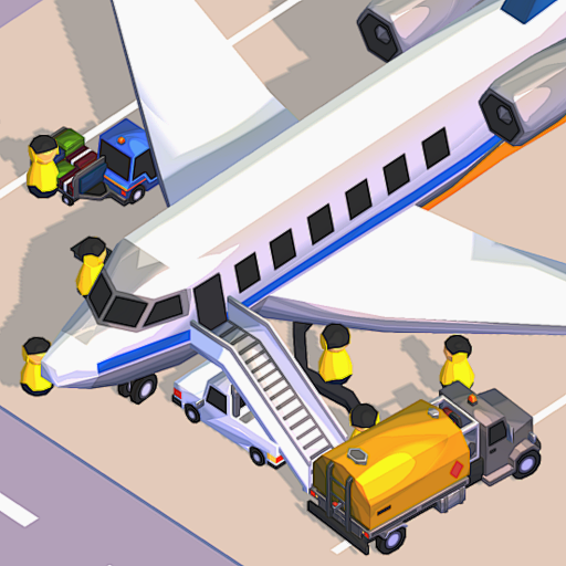 Airport Inc. Idle Tycoon Game ✈️  1.3.13 (Unlimited money,Mod) for Android
