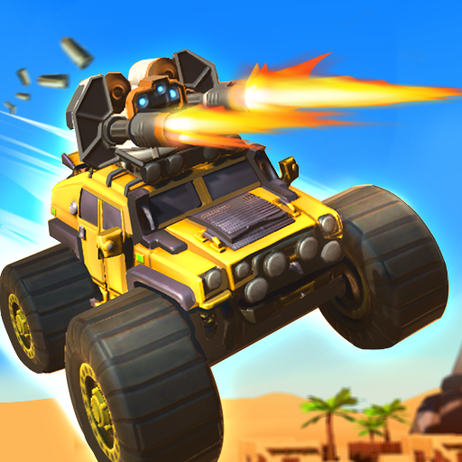 Battle Cars: Monster Hunter 1.2 (Unlimited money,Mod) for Android