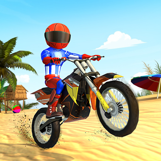 Bike Beach Game: Stunt and Racing Motorcycle Games  7.7 (Unlimited money,Mod) for Android