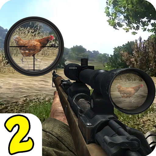 Chicken Shoot II Sniper Shooter 1.1.6 (Unlimited money,Mod) for Android