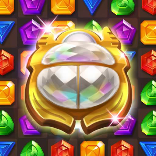 Cleopatra's Jewels – Ancient Match 3 Puzzle Games  1.2.4 (Unlimited money,Mod) for Android