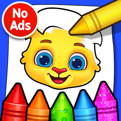 Coloring Games: Coloring Book, Painting, Glow Draw 1.0.9 (Unlimited money,Mod) for Android