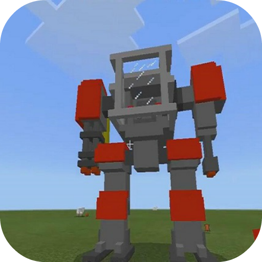 Defender Robot Mod for MCPE 4.4 (Unlimited money,Mod) for Android