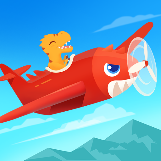 Dinosaur Plane – Plane piloting game for kids 1.1.0 (Unlimited money,Mod) for Android