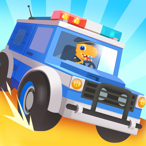Dinosaur Police Car – Police Chase Games for Kids 1.1.3 (Unlimited money,Mod) for Android
