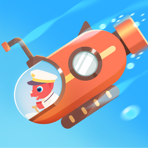 Dinosaur Submarine: Games for kids & toddlers 1.0.5 (Unlimited money,Mod) for Android