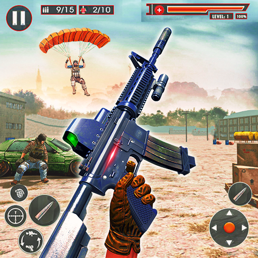 FPS Commando Secret Mission 3D: Shooting Adventure 1.0.6 (Unlimited money,Mod) for Android