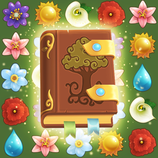 Flower Book: Match-3 Puzzle Game 1.149 (Unlimited money,Mod) for Android