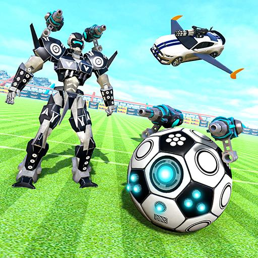 Football Robot Car Game: Muscle Car Robot 2.1 (Unlimited money,Mod) for Android