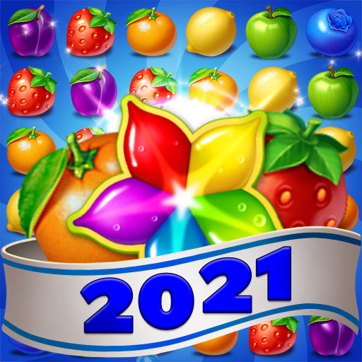 Fruits Farm: Sweet Match 3 games  1.1.8 (Unlimited money,Mod) for Android
