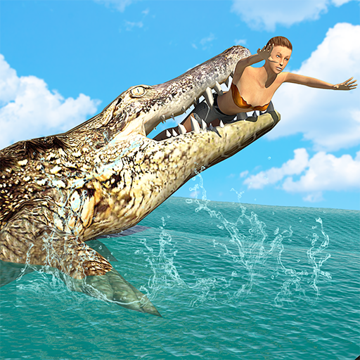 Hungry Crocodile Wild Hunt Simulation Game 8.3 (Unlimited money,Mod) for Android