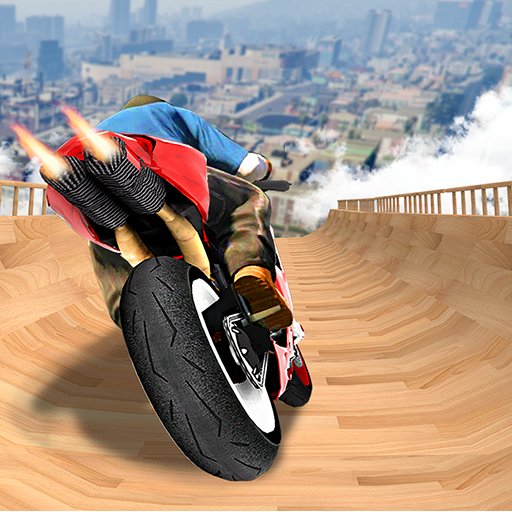 Impossible Mega Ramp Bike stunts: Bike Stunt Games  1.40 (Unlimited money,Mod) for Android