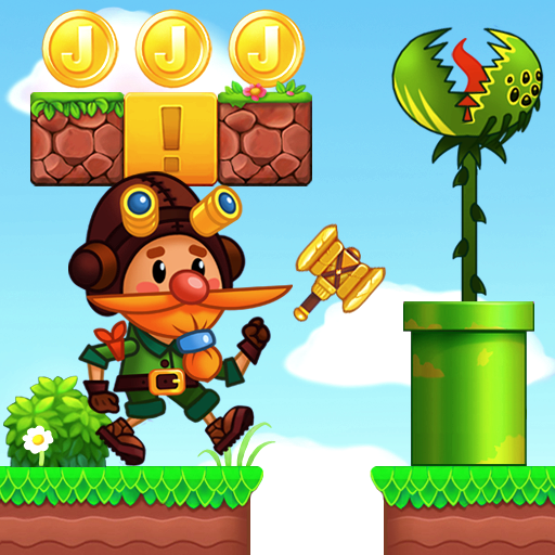 Jake's Adventure: Jump world & Running games! 🍀 2.0.3 (Unlimited money,Mod) for Android