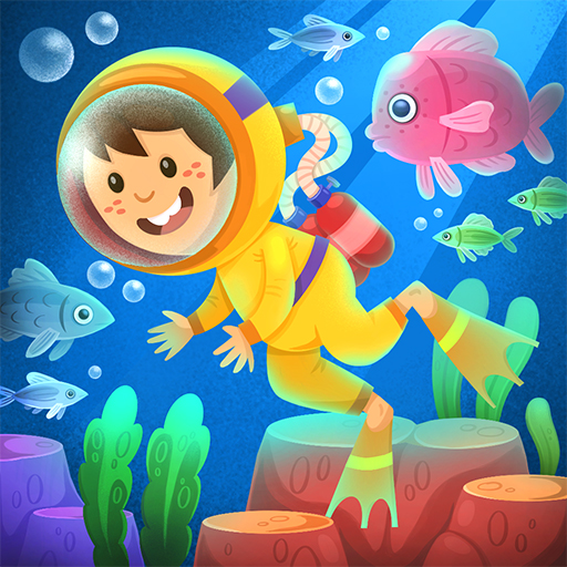 Kiddos under the Sea : Fun Early Learning Games 1.0.3 (Unlimited money,Mod) for Android