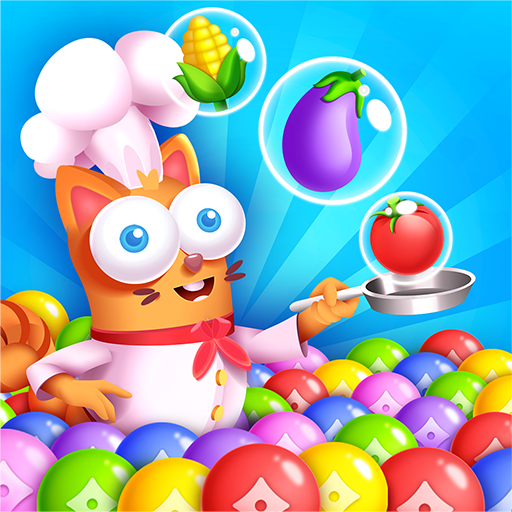 Kitten Games – Bubble Shooter Cooking Game 1.2 (Unlimited money,Mod) for Android