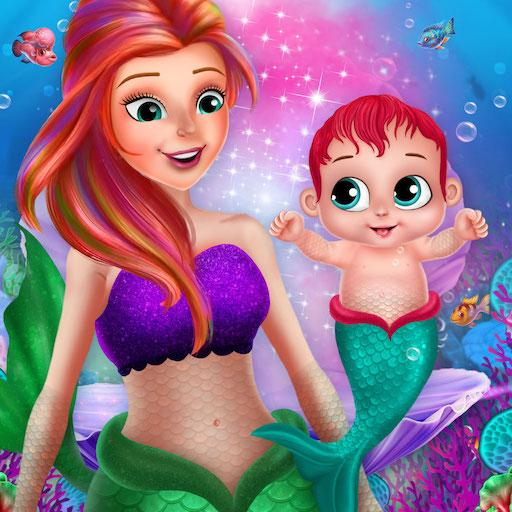 Little Mermaid Baby Care Ocean World 2.0 (Unlimited money,Mod) for Android