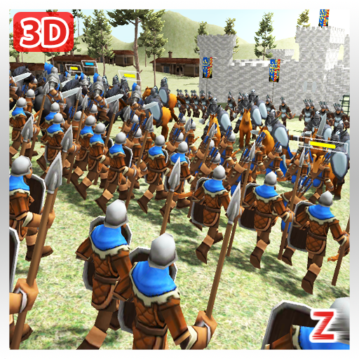 Medieval Wars: Hundred Years War 3D 2.1 (Unlimited money,Mod) for Android