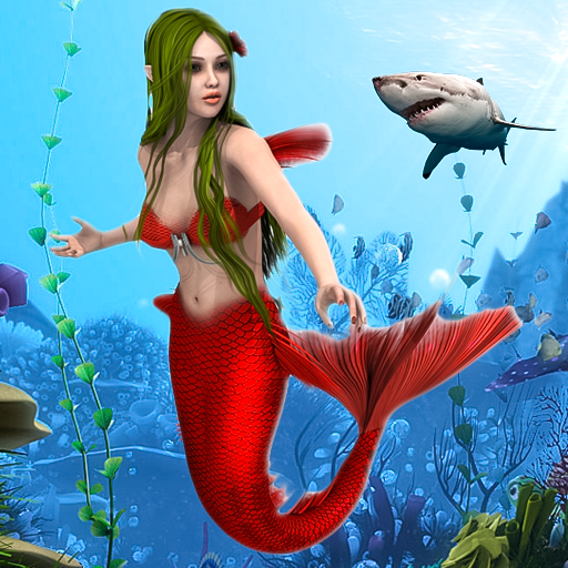 Mermaid Simulator Games: Sea & Beach Adventure 0.1 (Unlimited money,Mod) for Android
