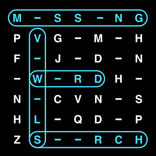 Missing Vowels Word Search 5.10 (Unlimited money,Mod) for Android
