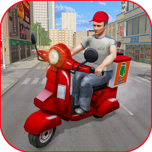 Moto Bike Pizza Delivery Games 2021: Food Cooking 1.12 (Unlimited money,Mod) for Android