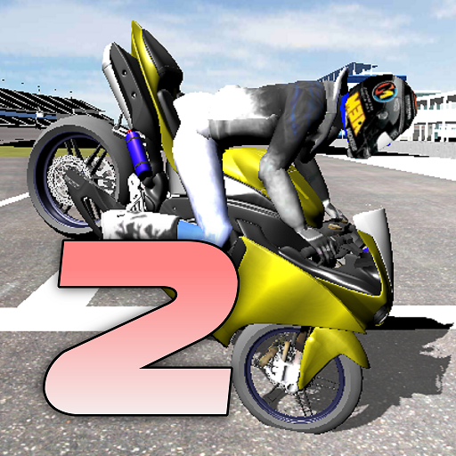 Motorbike – Wheelie King 2 – King of wheelie bikes 1.0 (Unlimited money,Mod) for Android