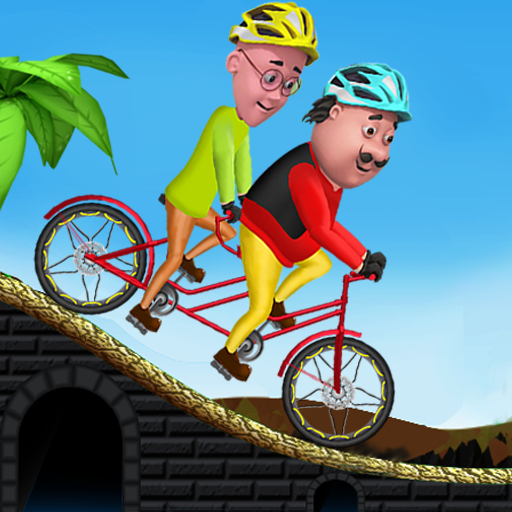 Motu Patlu Cycling Adventure 1.1.2 (Unlimited money,Mod) for Android