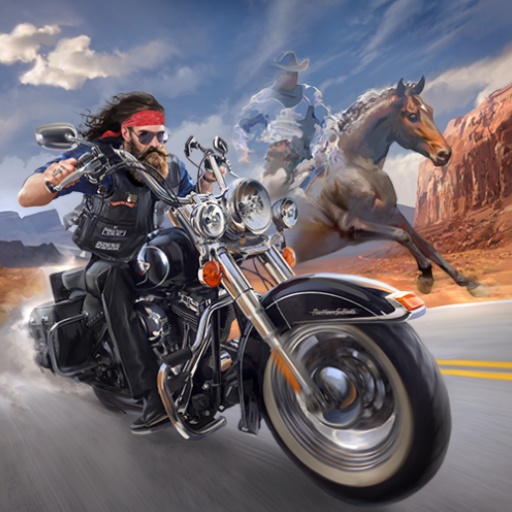 Outlaw Riders: War of Bikers 0.2.8 (Unlimited money,Mod) for Android