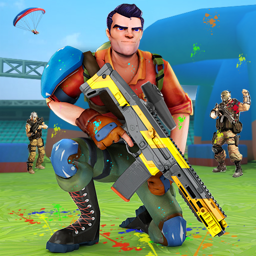 Paintball Shooting Games 3D  3.8 (Unlimited money,Mod) for Android